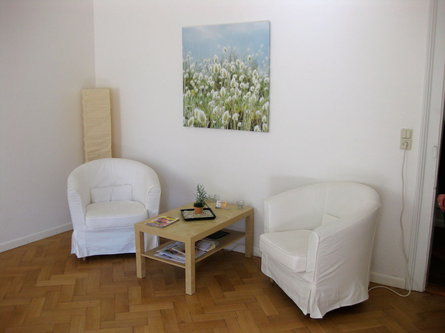 Patientenzimmer Dental-Concept